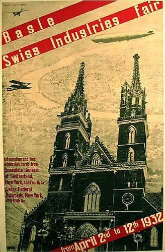 1932 Basle Swiss Switzerland