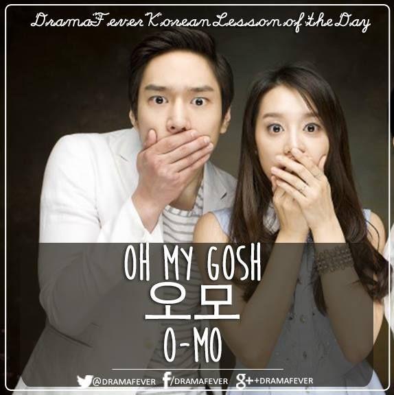 Oh my Gosh 오모 Learning Korean @DramaFever