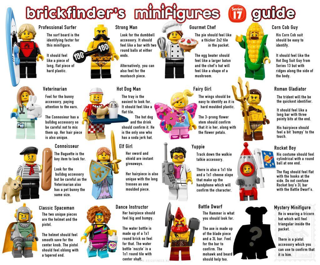 Lego Collectible Minifigure Series 17 Feel Guide Mini Figures Lego Cool Lego