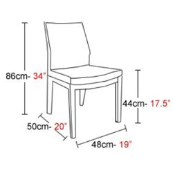 Dining Chair Size Architecture Standardsize Pinterest Dining Chairs