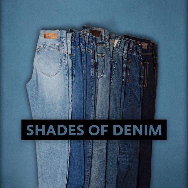 What's Your Favorite Wash? #jeans #denim #denimlove #denimondenim #denimwear #jeansday #liveindenim #denimcouture #vintage #selvedge #selvedgeforum #selvedgedenim #selvedgedenimjapan