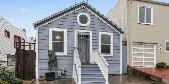 The Least Expensive Home For Sale In San Francisco Is A Tiny Cottage Expensive Houses Tiny Cottage Cottage House Plans