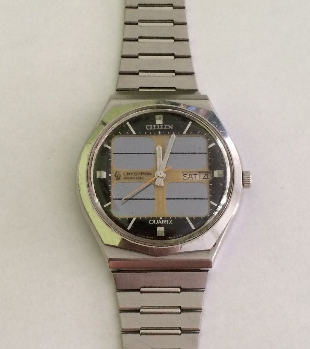 Citizen Crystron Solar Cell 1976 Vintage Watches In