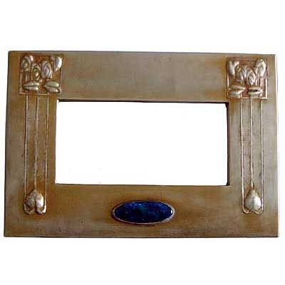 Glasgow School Arts & Crafts Beaten Tin and Enamel Mirror. | The ...
