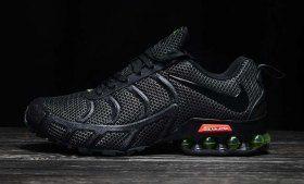 Great Nike Air Shox KPU 2019 Black Green Shox Nz Mens Running Shoes Trainers f43728e14
