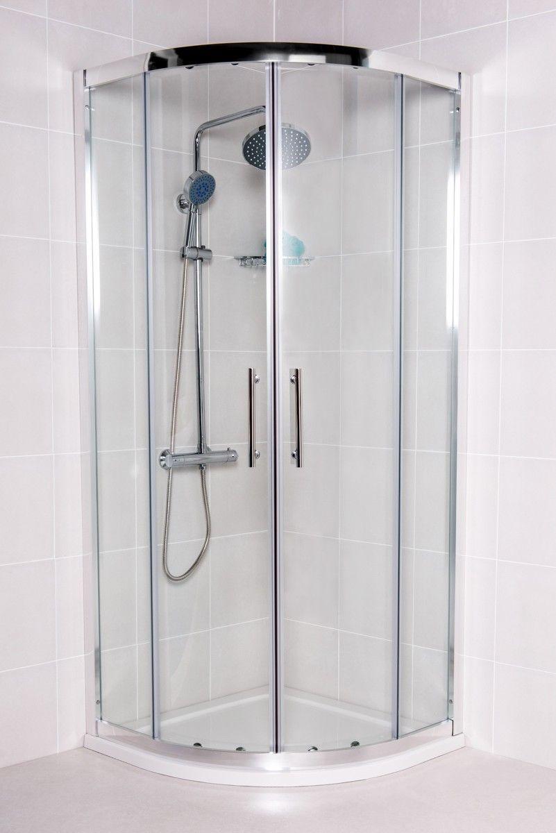 Aquariss 800mm Quadrant Shower Enclosure with Easy Clean Glass ...