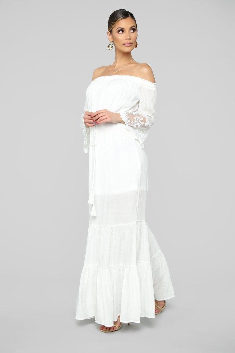 Pin by ana brito on fashion Dresses, Maxi dress, White