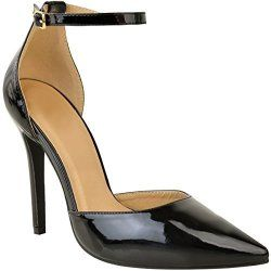 284f3b42 Womens Ladies Pointy High Heels Stilettos Sandals Barely There Party Shoes  Size