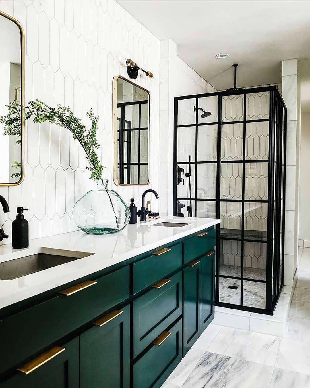 37++ Green bathroom cabinet ideas best