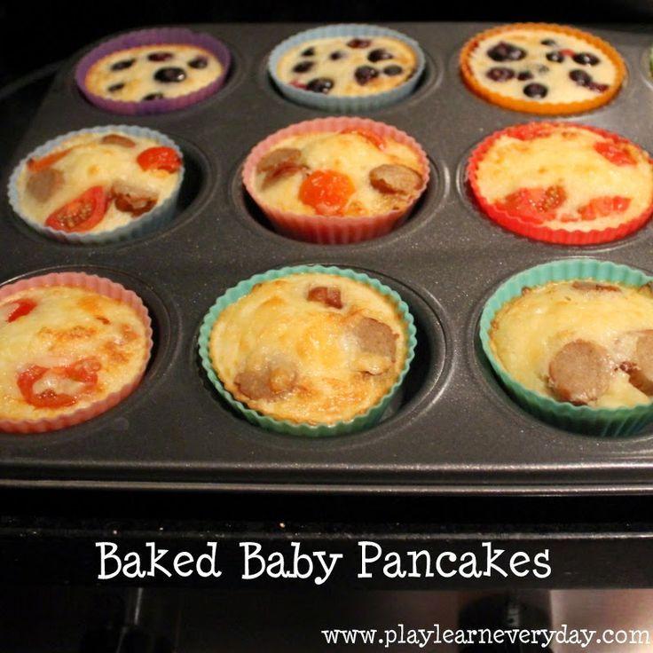 Baby Baked Pancakes
