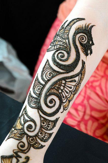 Henna Tattoos For Men: Men Henna Tattoo, Tribal Henna, Dragon Henna