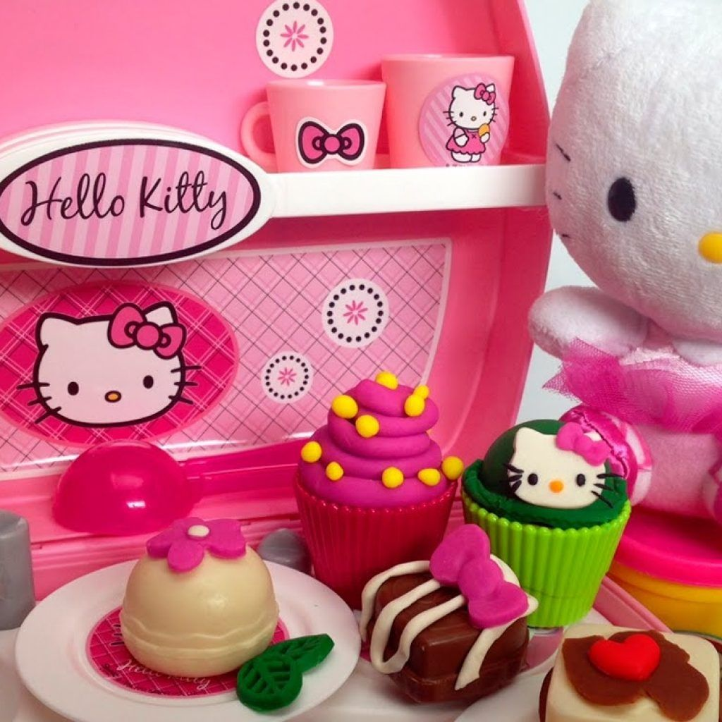 Play Doh Küche Youtube Play Doh Kitchen Set Hello Kitty My Kitchen Toys Pinterest