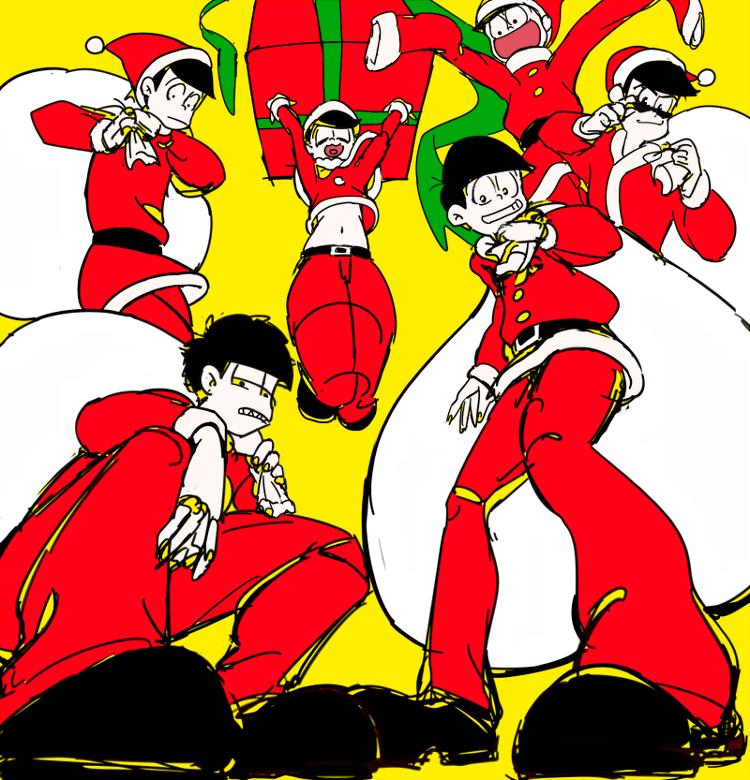 Osomatsu-san- Osomatsu, Karamatsu, Choromatsu, Ichimatsu ...