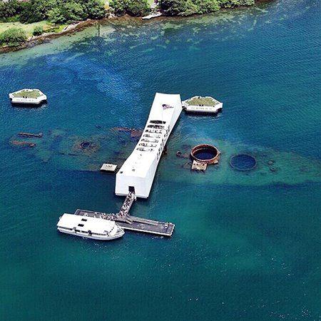 Pearl Harbor Oahu >> Uss Arizona Memorial Pearl Harbor Oahu Hawaii Places I Have