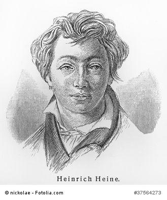 Heinrich Heine Deutscher Dichter Literary People And