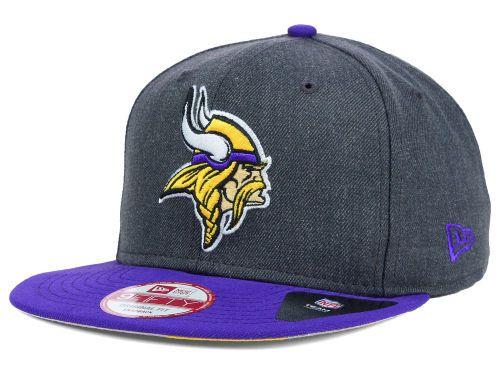 Minnesota Vikings New Era NFL 2 Tone Action Original Fit 9FIFTY Snapback Cap  Hats fae17f8de9c9