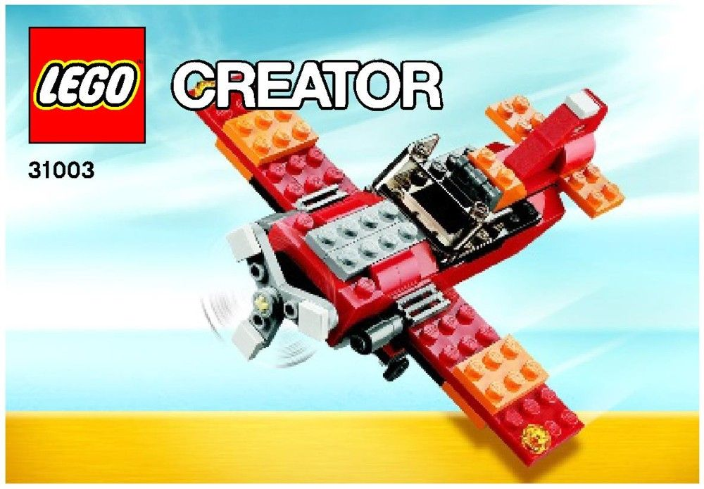 Creator Red Rotors Lego 31003 Lego Instruction Booklets