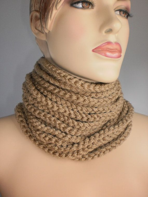 Crochet Cowl Scarf Neck Warmer Winter Accessories | Bufanda cuello ...