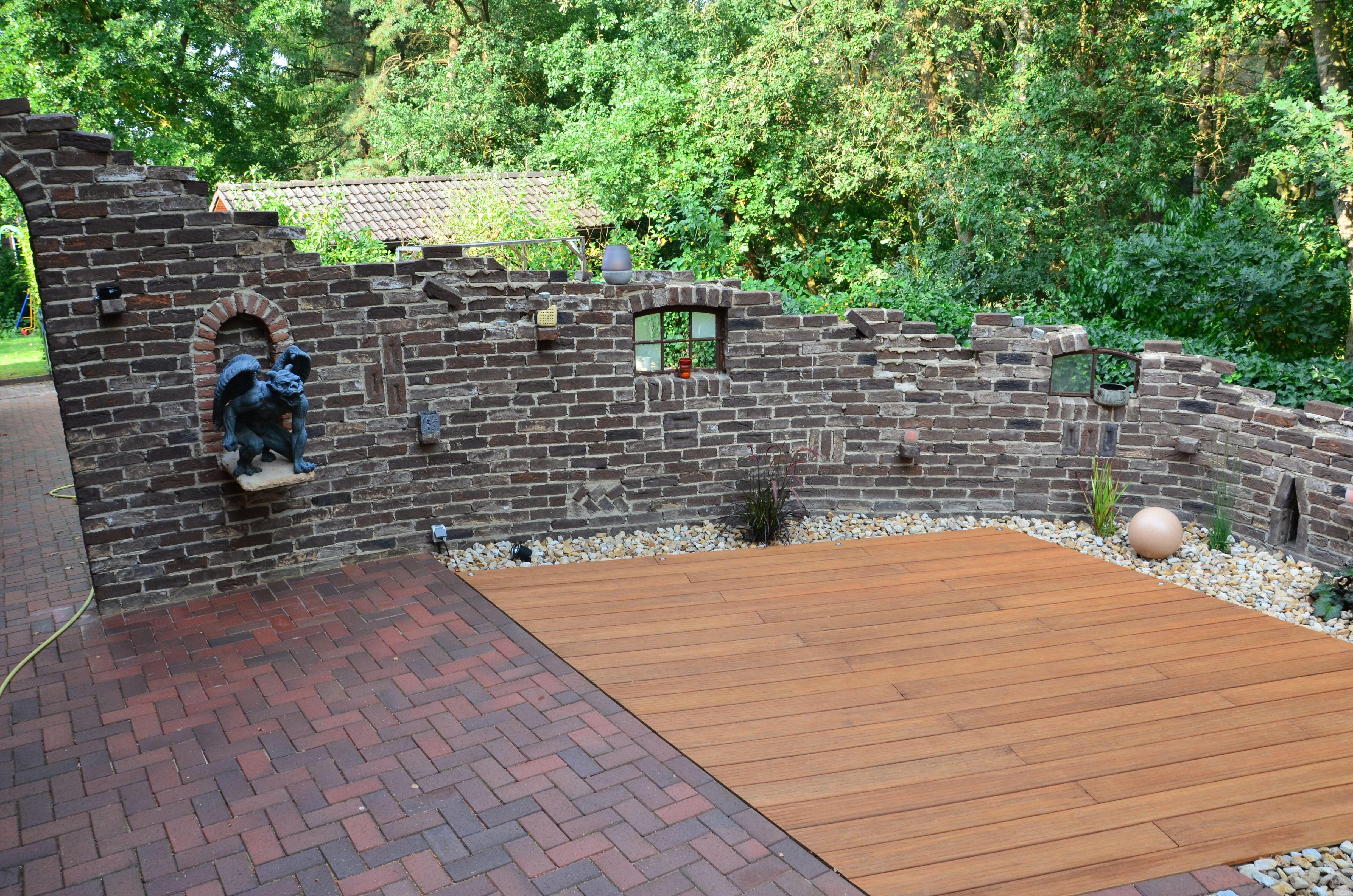 Terrassen Sichtschutz Selber Bauen Pergola Im Garten Sonnen
