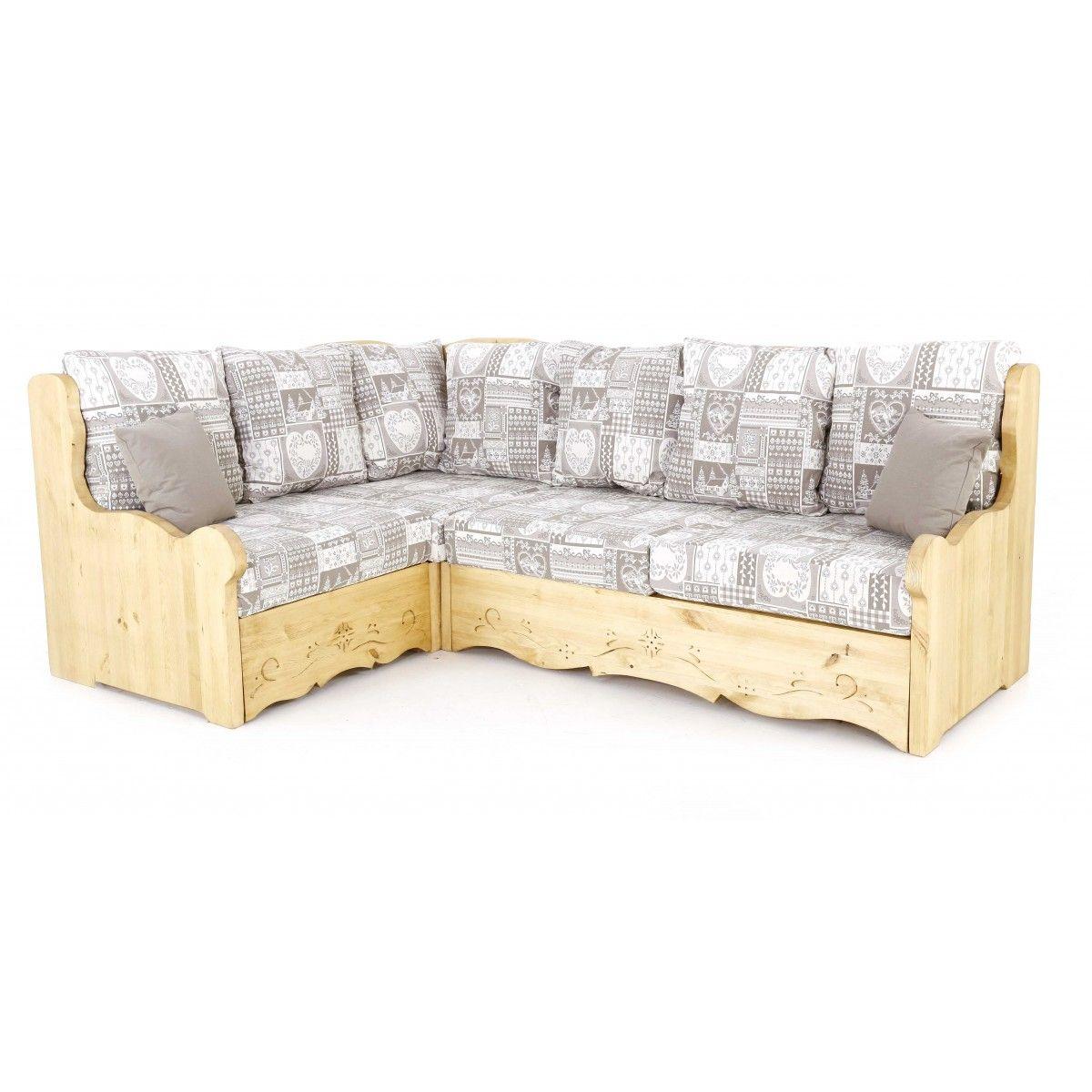 canap d 39 angle montagne gris canap d 39 angle chalet gris canap d 39 angle en pin gris lit. Black Bedroom Furniture Sets. Home Design Ideas