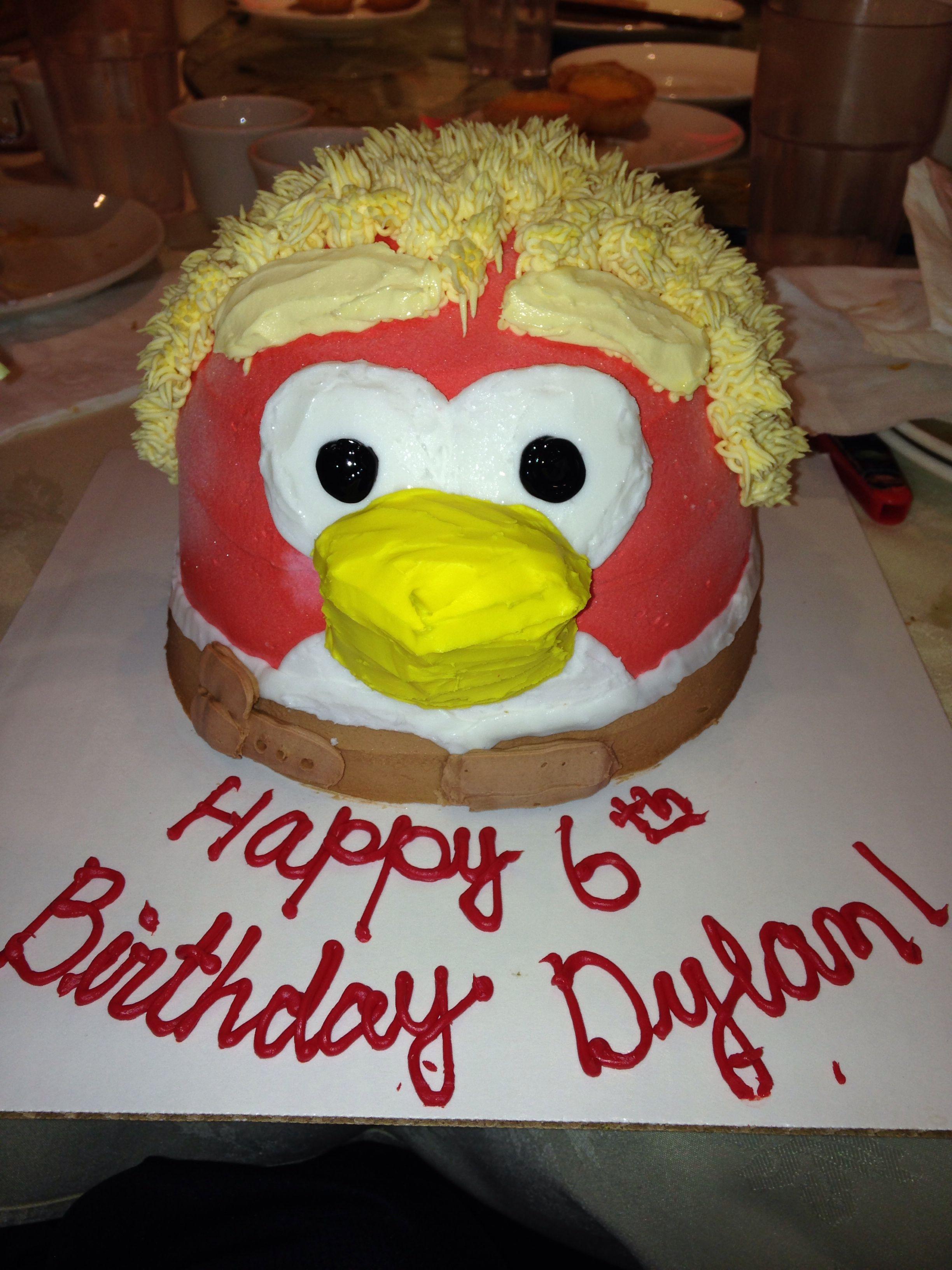 Baskin Robbins Angry Birds Star Wars Ice Cream Cake
