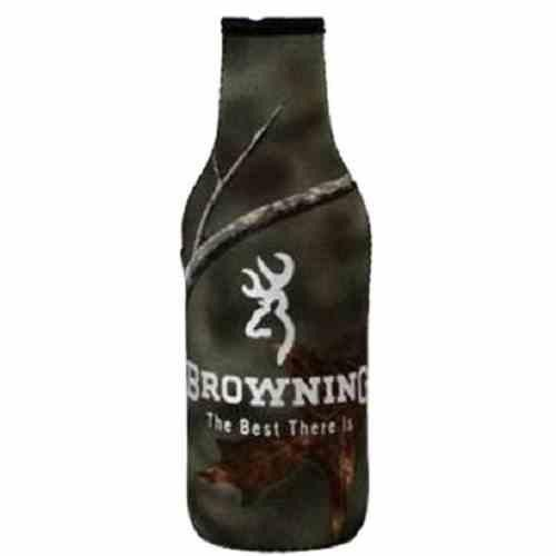 AES Browning 12oz Bottle Cooler Camo