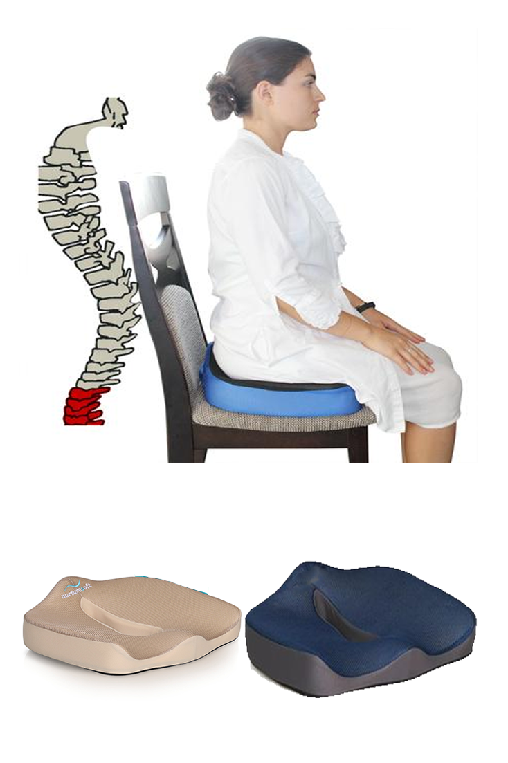 Coccyx Seat Cushion For Lower Back Pain Tailbone Relief