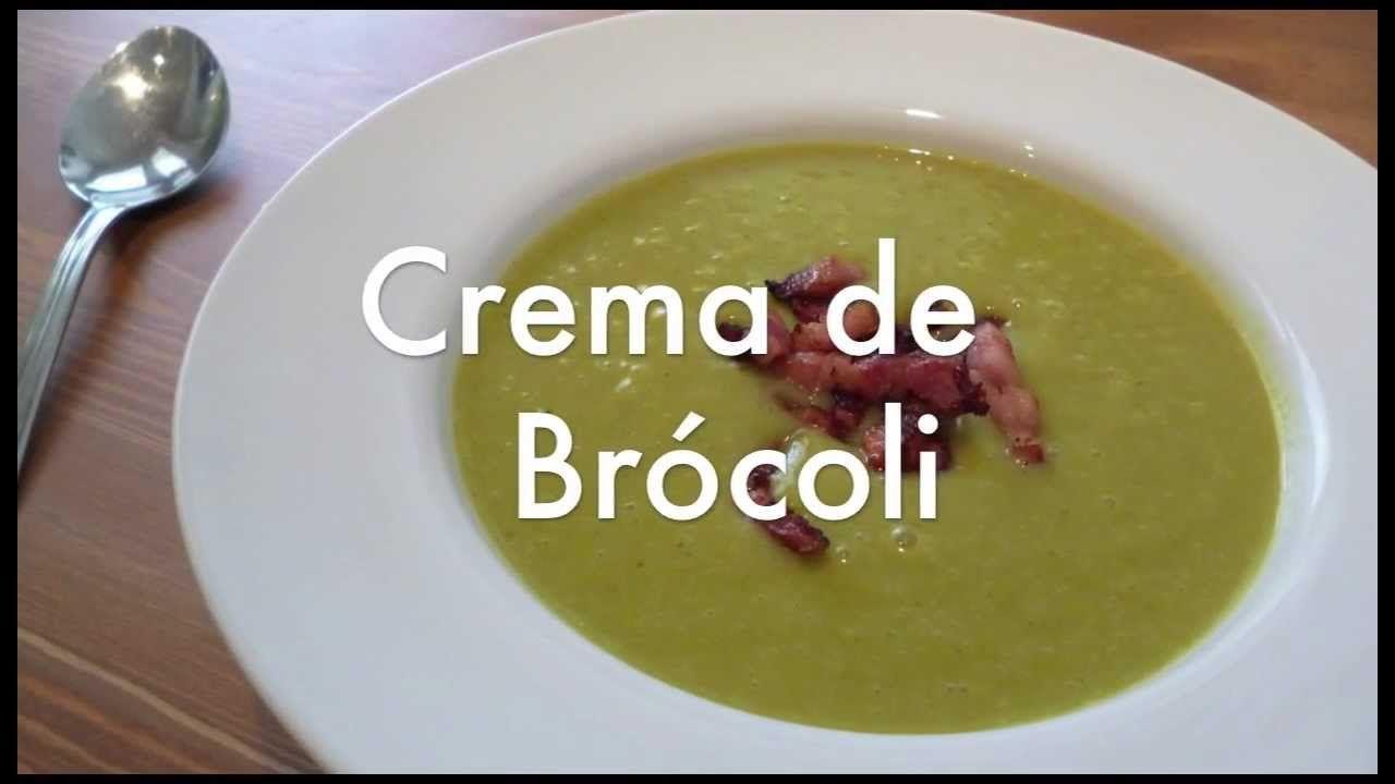Crema O Puré De Brocoli Recetas Para Olla Express O Rápida Paellas Receta Pure De Brocoli Brocoli Recetas