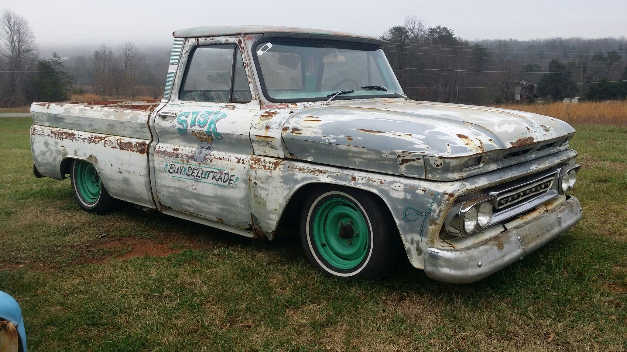 small resolution of 1966 chevy c10 rat rod