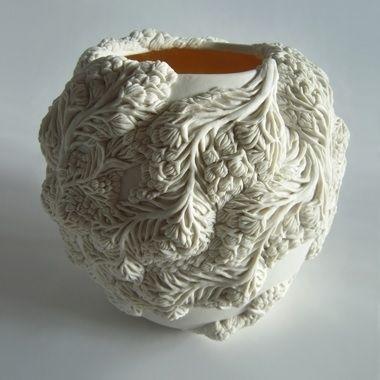 Холодный фарфор ваза своими руками из 870