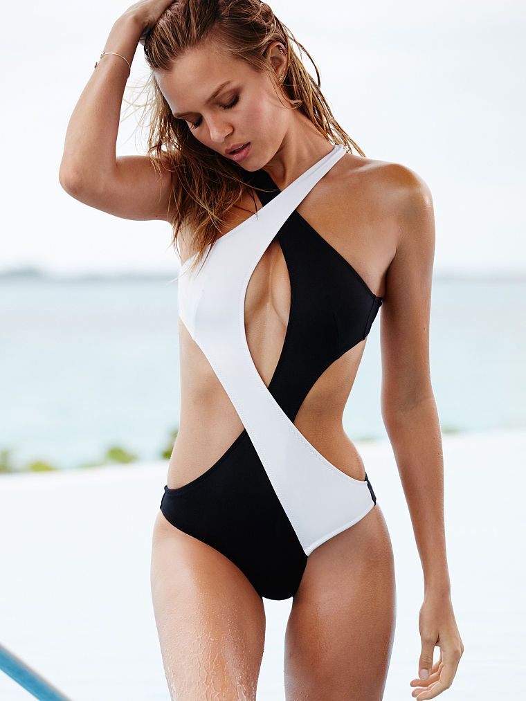 9279ec22d7a Surf Wrap One-piece - Victoria's Secret get this instead of the b&w bikini.