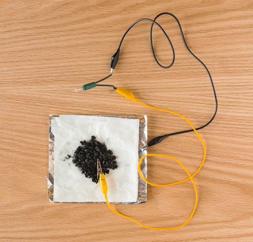 Use Aluminum Foil Salt Water And Activated Charcoal To Construct A Handson Squishy Circuit Electricity For Kids Circuits Simple Battery Strong Enough Power Small Motor Or Light