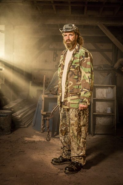 Willy, trap builder, Mountain Monsters show  | Favorite TV