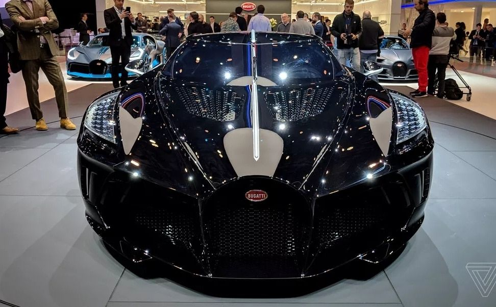 Bugatti La Voiture Moire Becomes The Most Expensive Car In The World