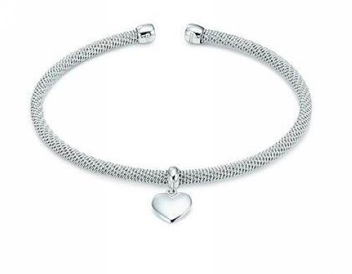 Tiffany Somerset Heart Bangle Silver $56.00