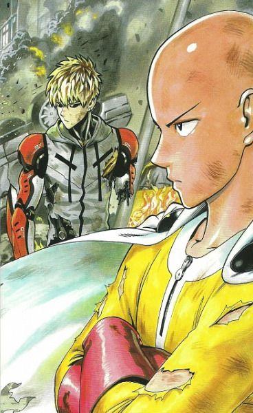 One Punch Man Saitama Genos Yuusuke Murata Illustrations One Punch Man Anime One Punch Man Manga One Punch Man