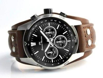 Zegarek Meski Gm Pasek Skora Braz Czarny 6553951856 Oficjalne Archiwum Allegro Casio Watch Things To Buy Accessories