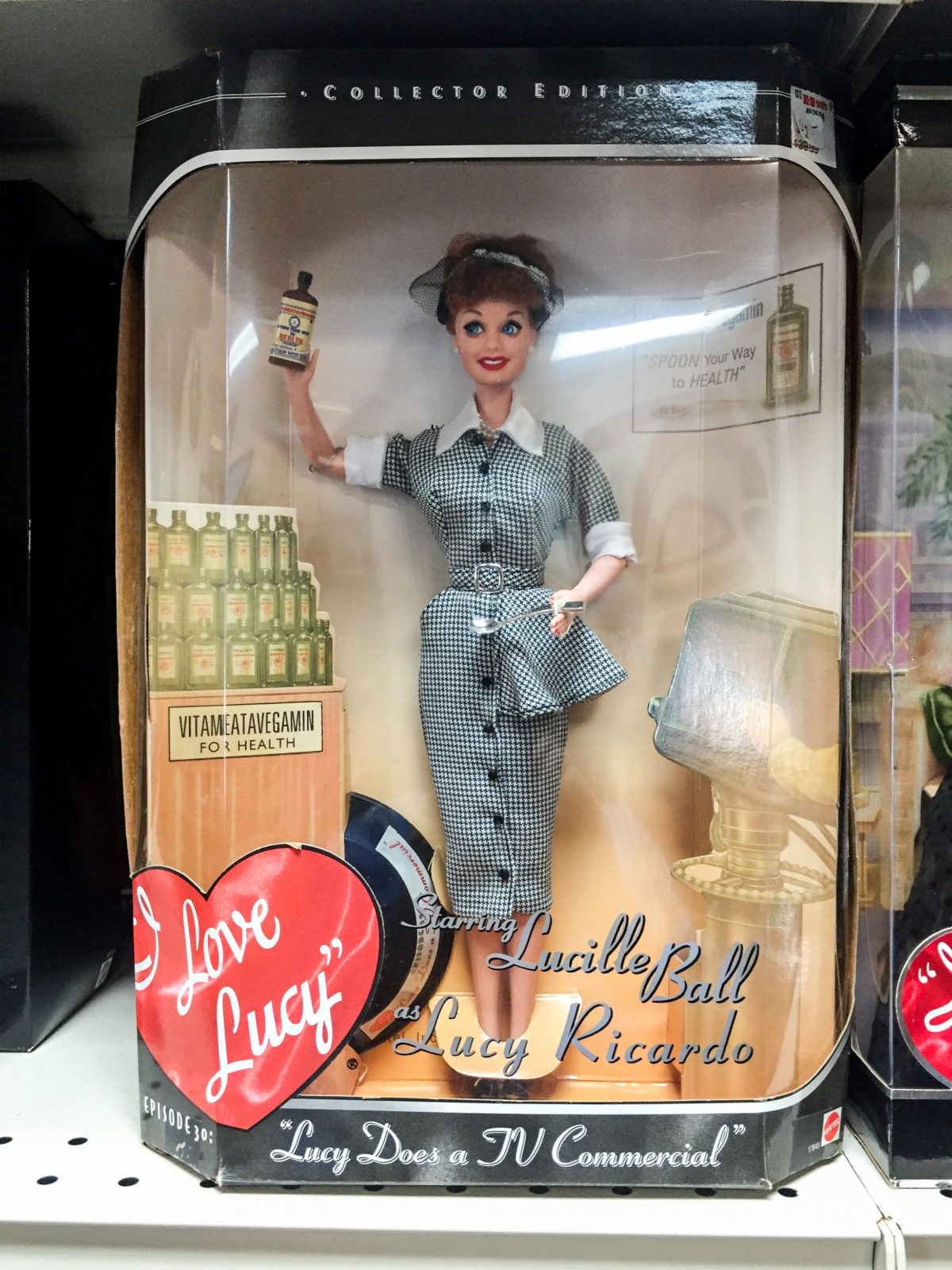 I Love Lucy Barbie • Vegameatavegamin Lucy! Big selection of Barbie ...