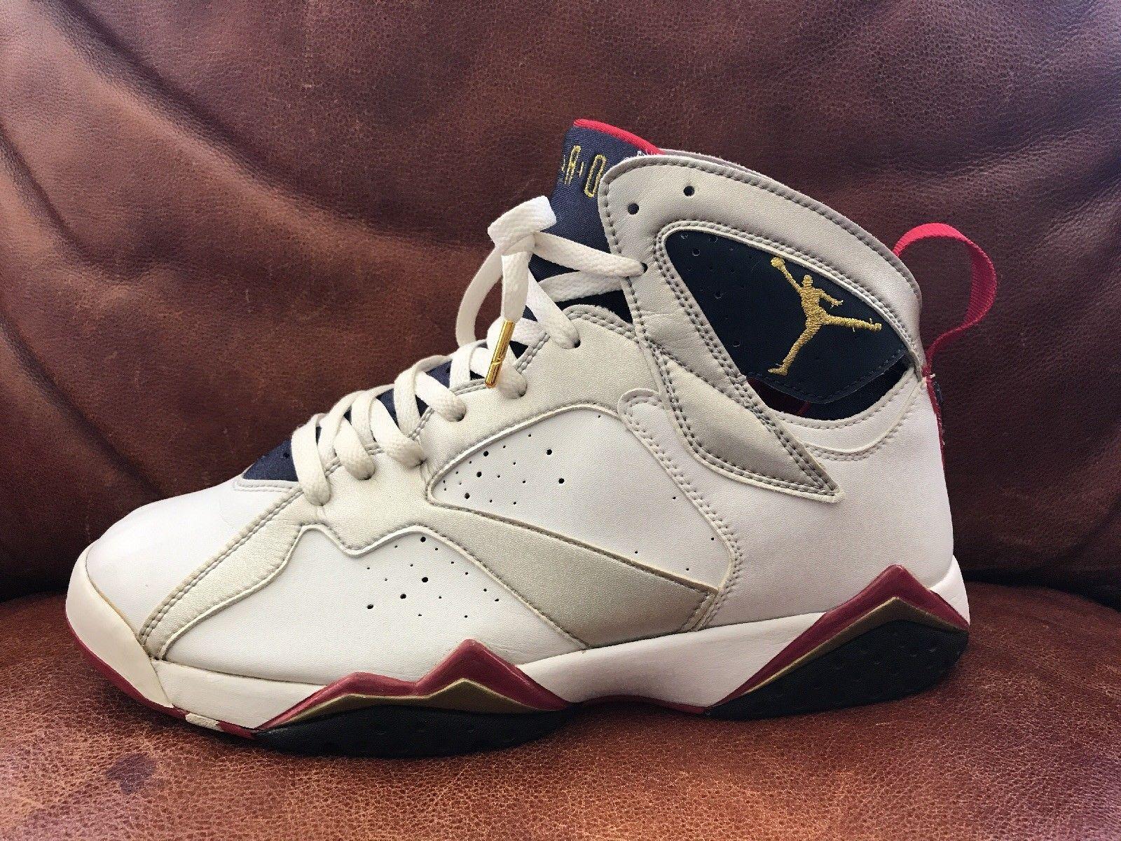 Nike Air Jordan 7 VII Retro OLYMPIC 2004 Size 10.5 304775 171 Roached Kicks
