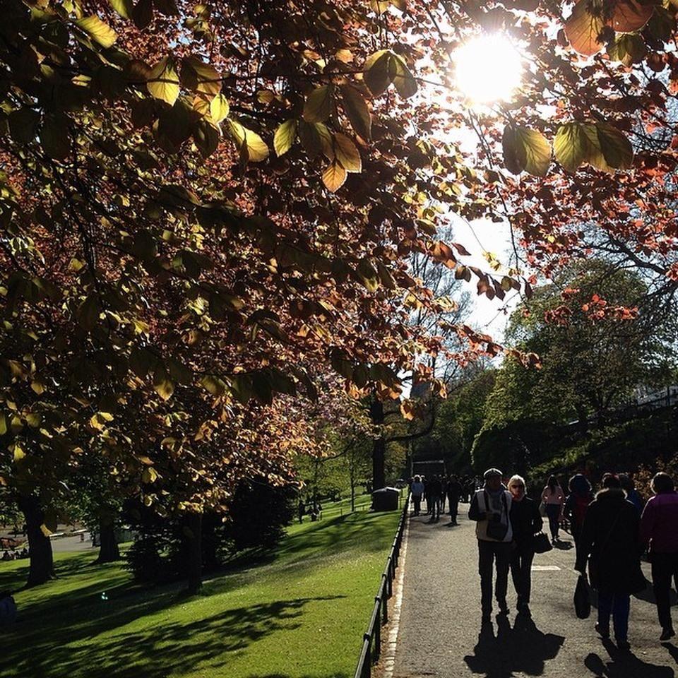 Princes Street Gardens - Edinburgh Castle - Edimburgo, Edinburgh ...