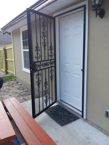 Backdoor Unique House Design Steel Security Doors Door Gate Design
