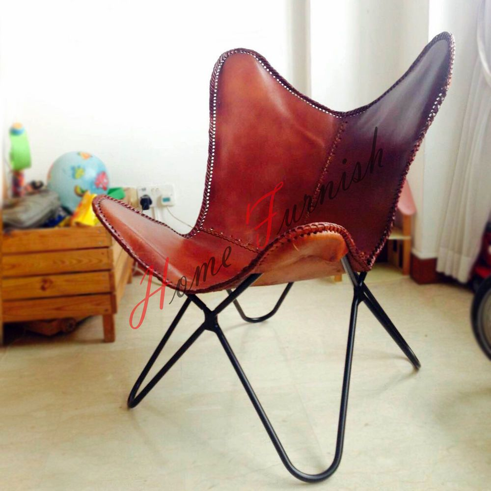 Butterfly Chair Leder Braune Leder Butterfly Chair Cover Butterfly Leder Brown Leather
