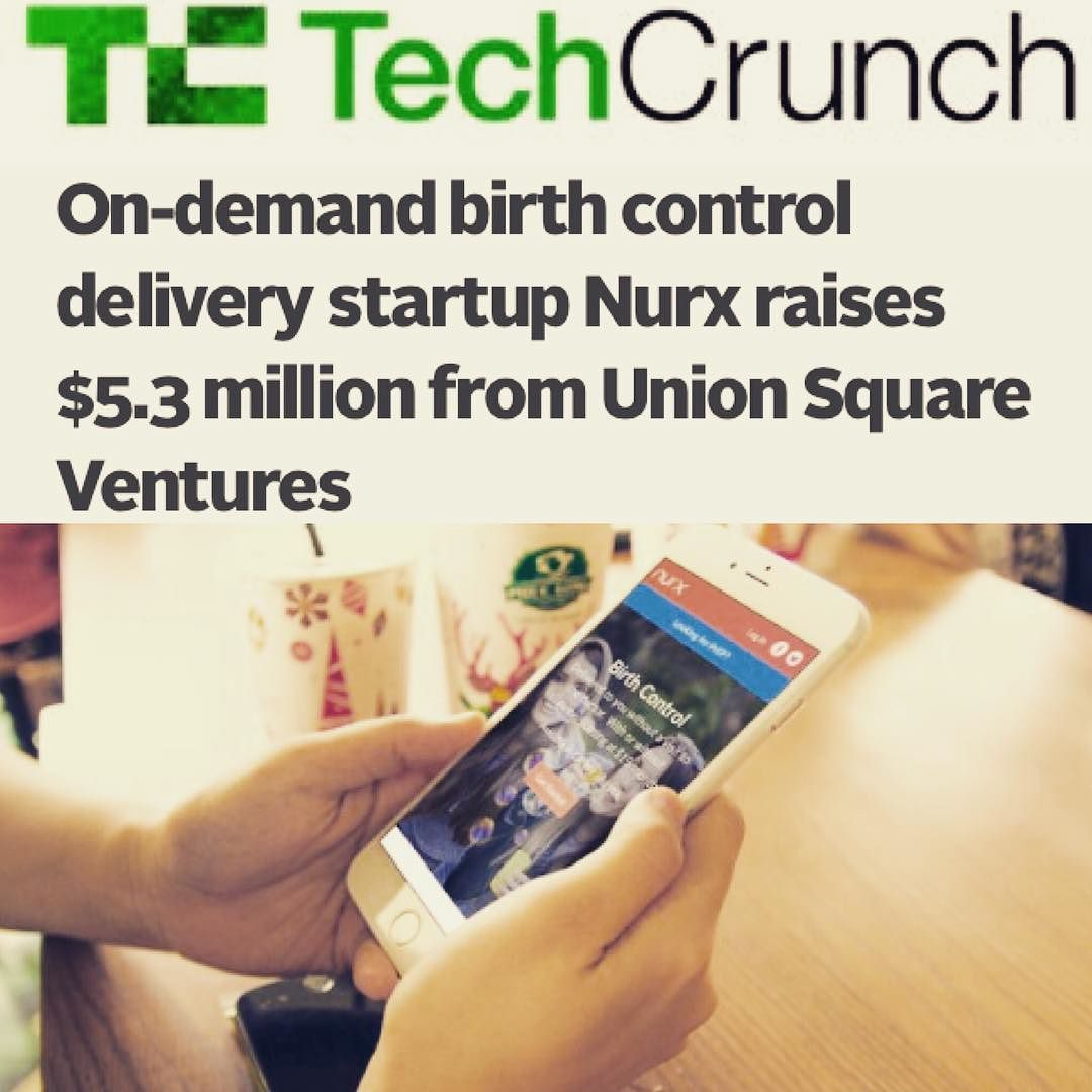 @techcrunch posts about us! #womenshealth #sexualhealth #nurx #healthtech #mobilehealth #mhealth #Tech4Good
