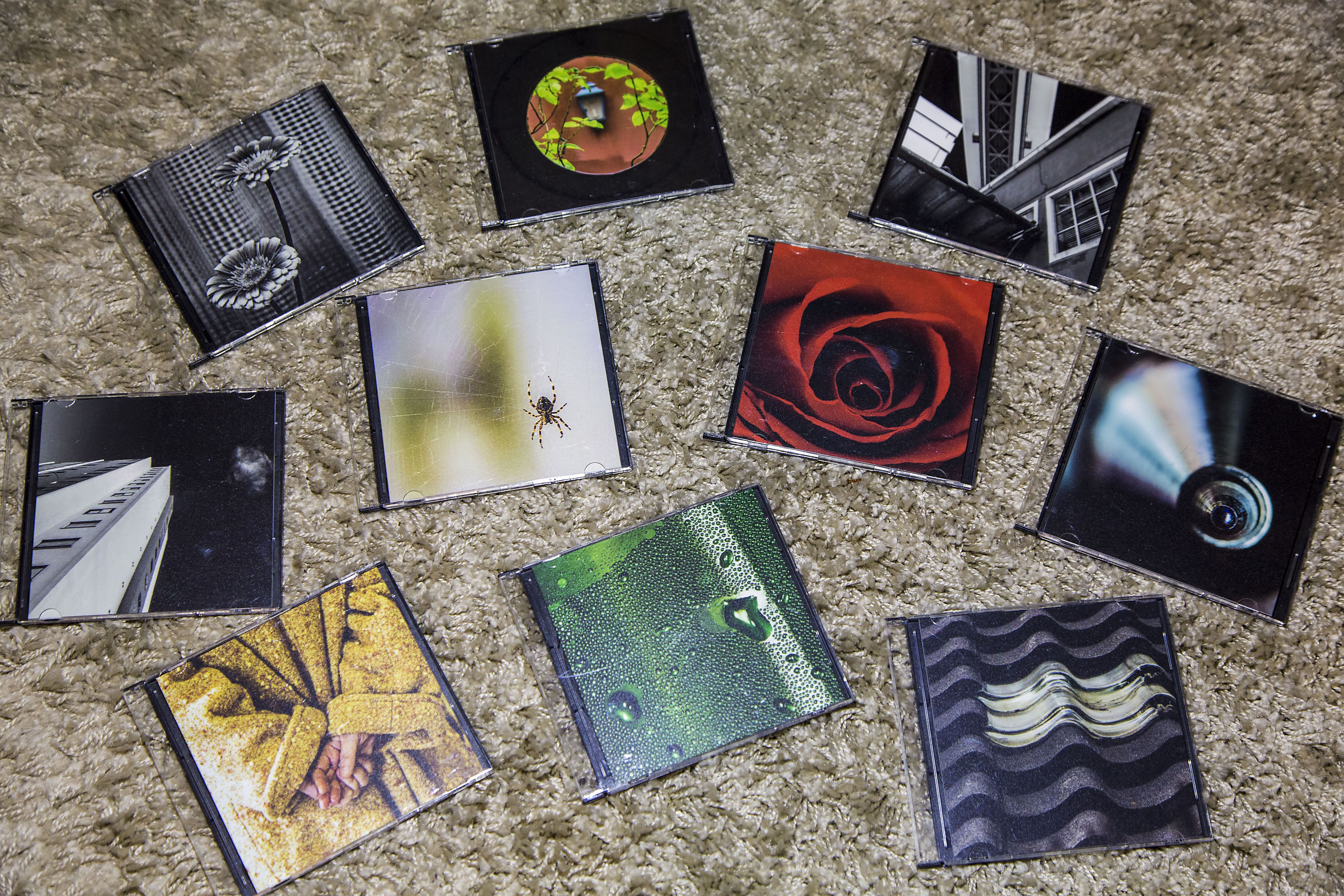 #12.01. 12 by 12's. (pieces for an art exibit named 12x12 going on December 12)