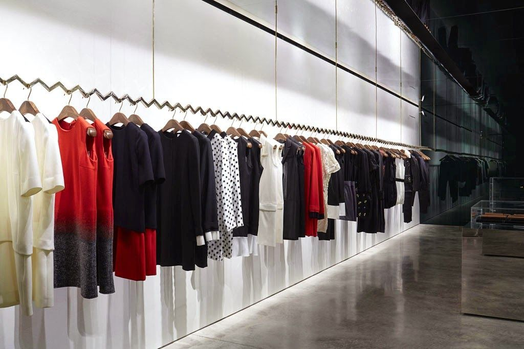 Must see victoria beckham new london store net for Retail interior designers in london