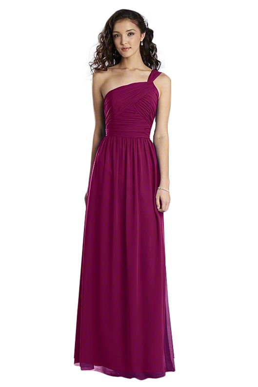 Alfred Angelo 7358 L Bridesmaid Dress in Pink in Chiffon ...