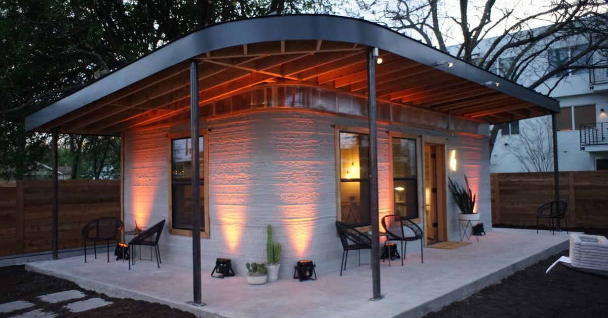 Cheap Fast Sustainable 3d Printed Homes Heading Overseas To Help 3d Printed House House Cost Concrete House