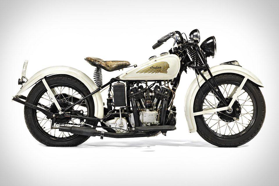Steve Mcqueen S 1934 Indian Sport Scout Motorcycle Steve Mcqueen Motorcycle Indian Scout