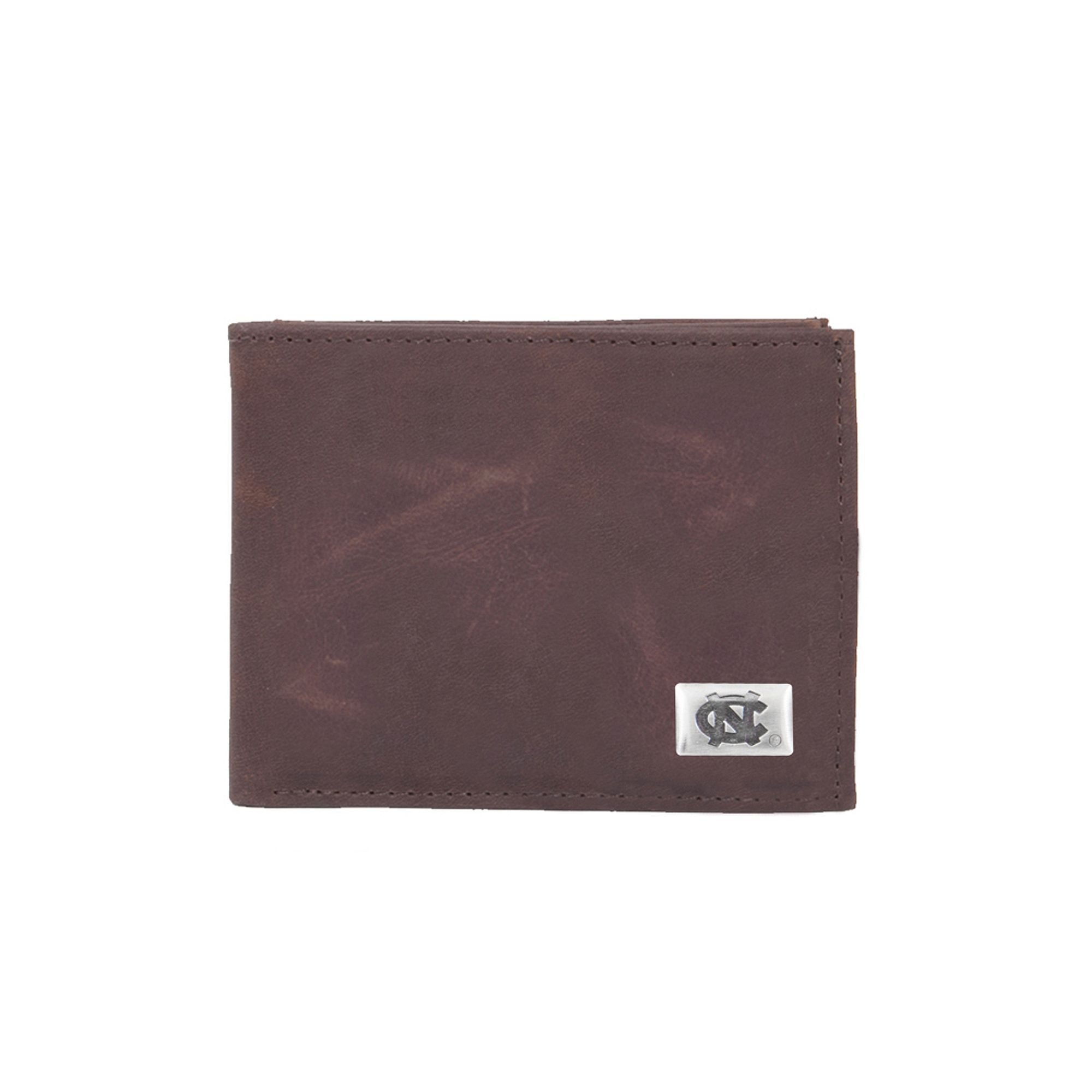 9503b167b5f7 North Carolina Tar Heels Leather Bifold Wallet | Products | Wallet ...
