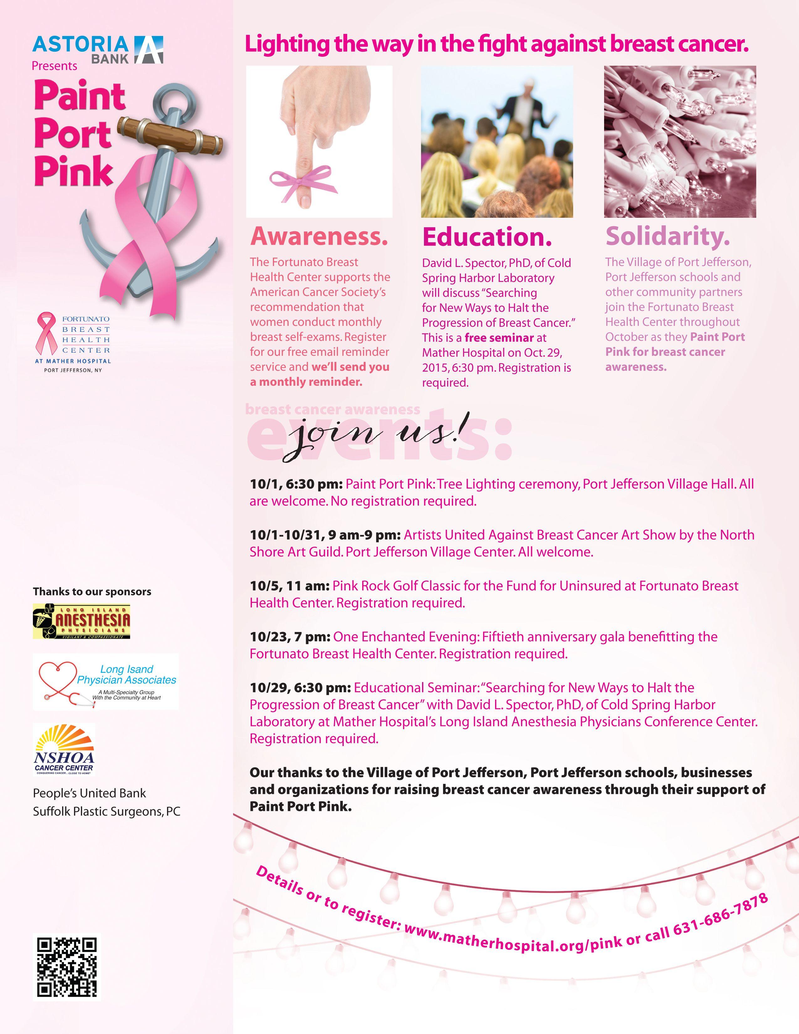 center Breast health outreach